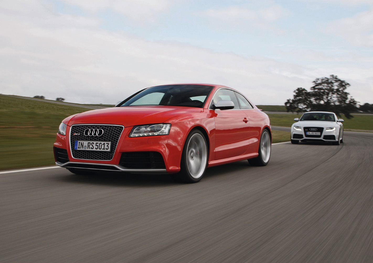 2010 Audi RS5 testing