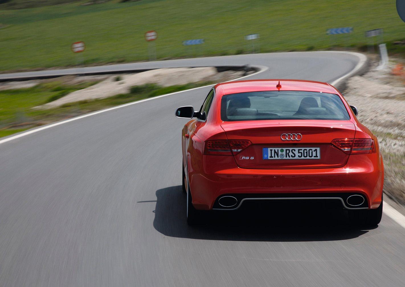 2010 Audi RS5 rear