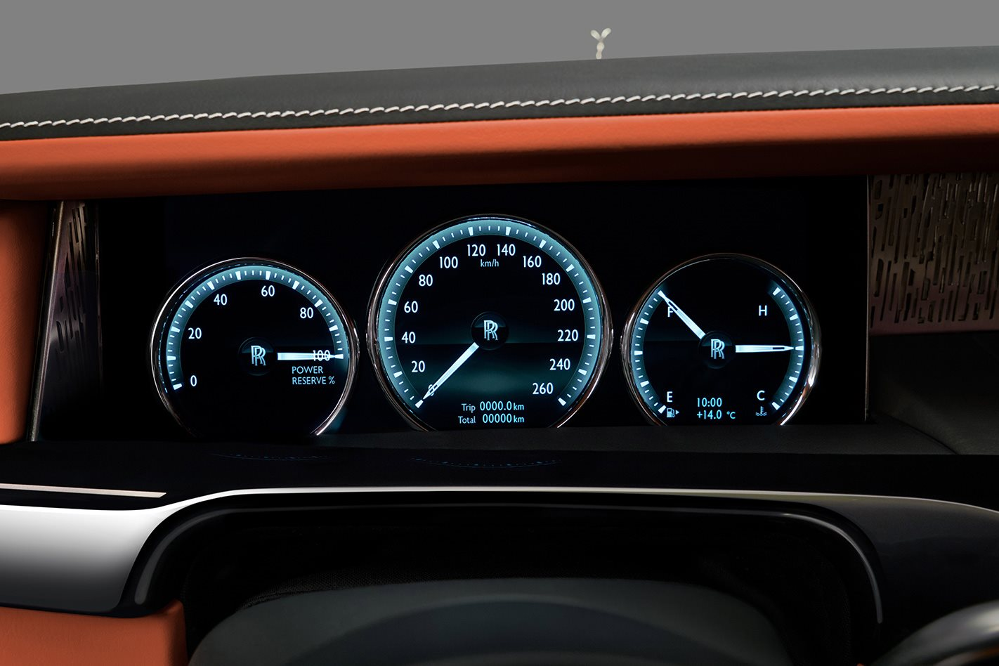 2018 Rolls Royce Phantom electronics