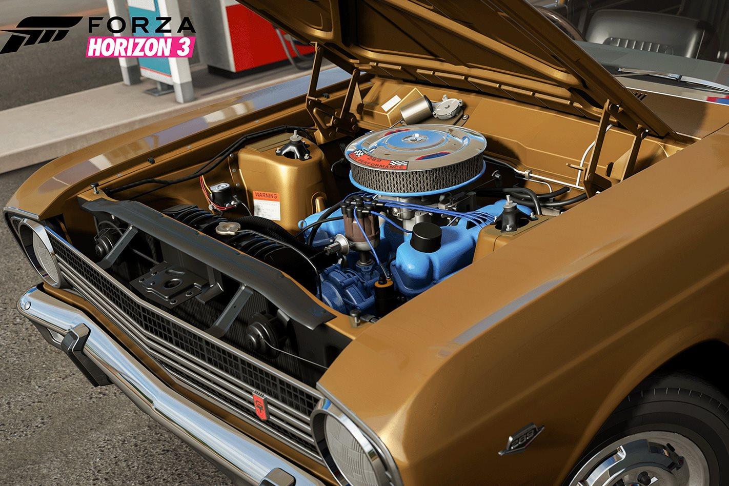 Ford Falcon engine Forza Motorsport 7