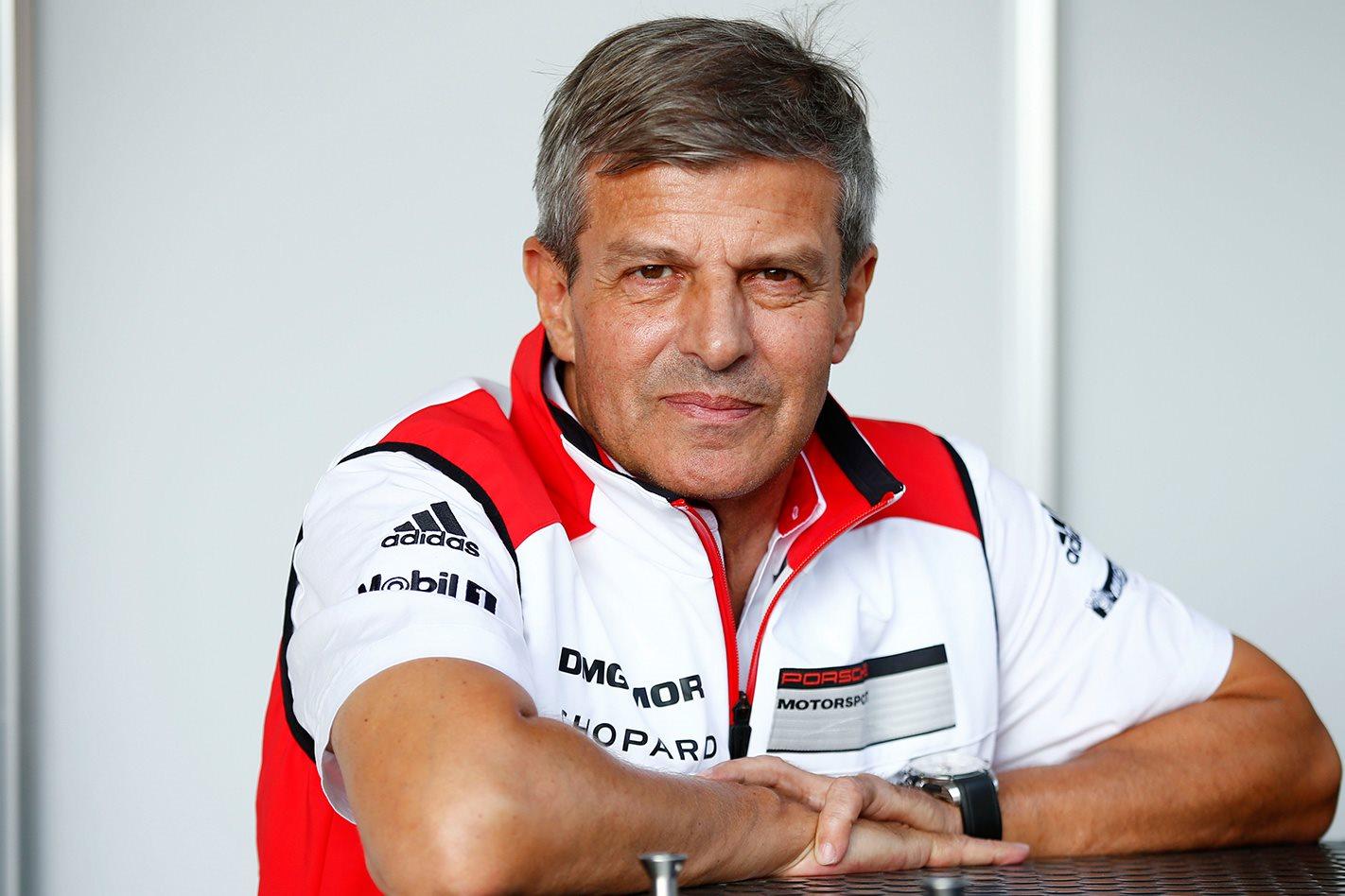 Fritz Enzinger Porsche motorsport figure