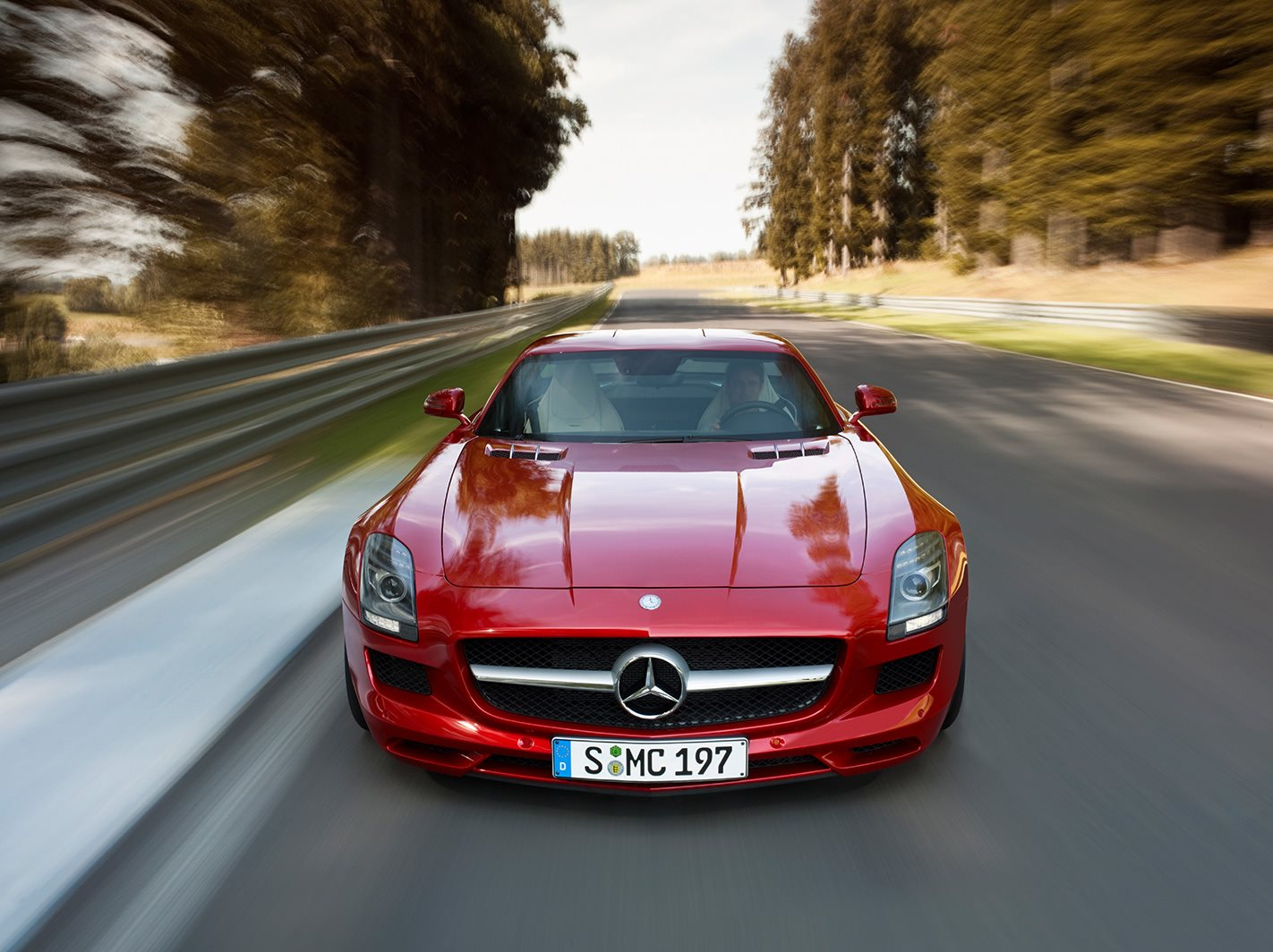 Mercedes-Benz SLS AMG front facing
