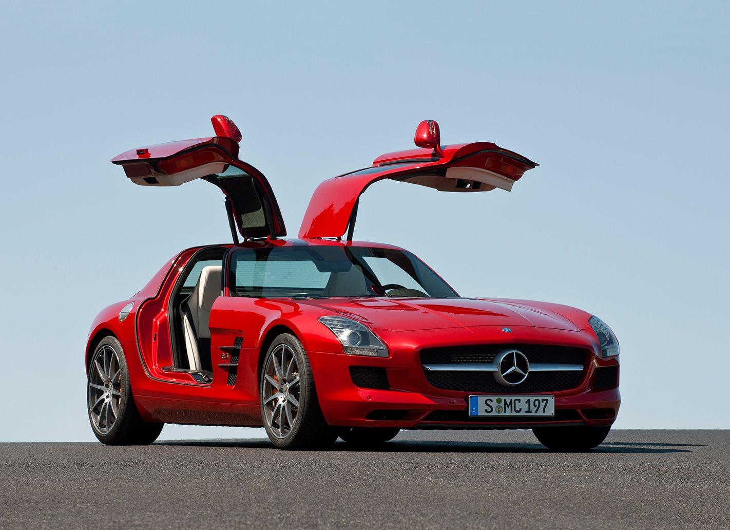 Mercedes-Benz SLS AMG scissor doors