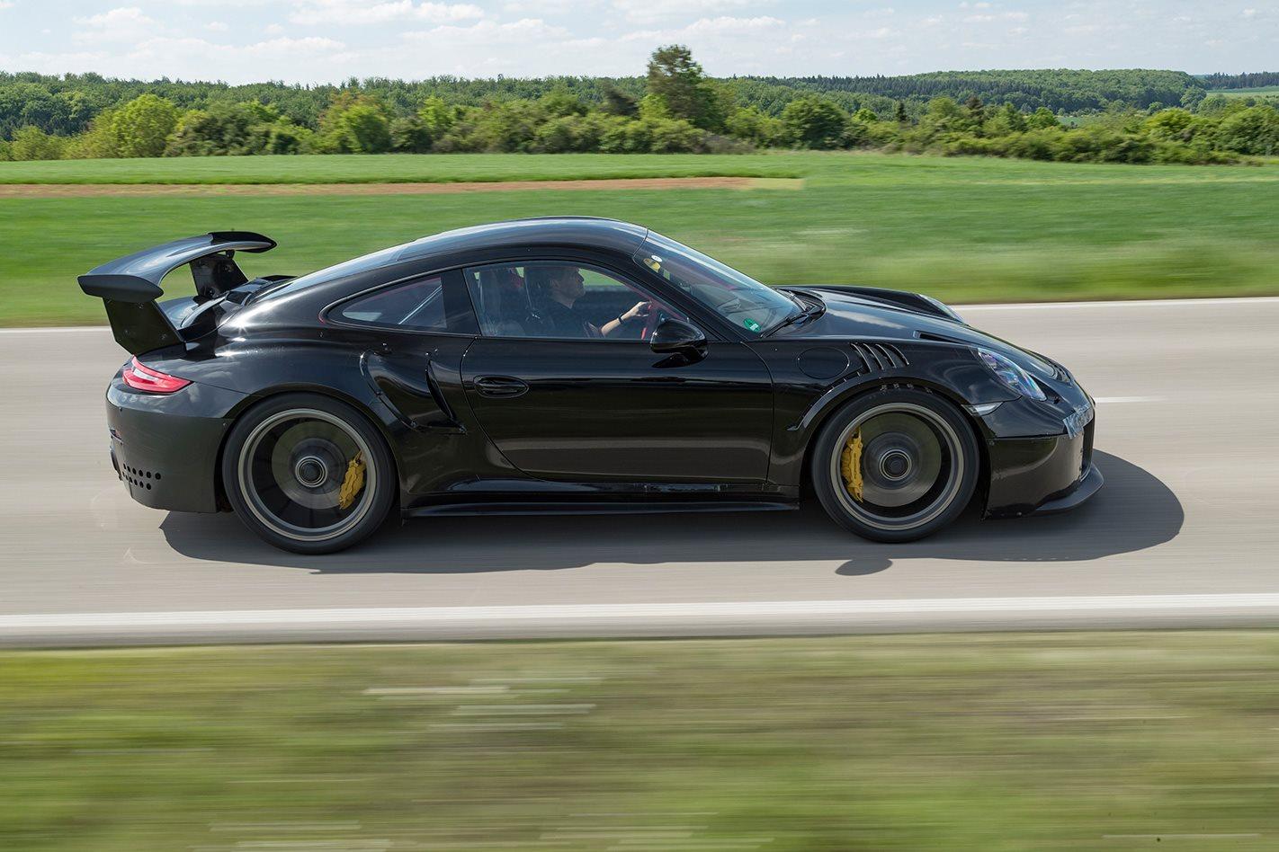 2018 Porsche 911 GT2 RS side profile