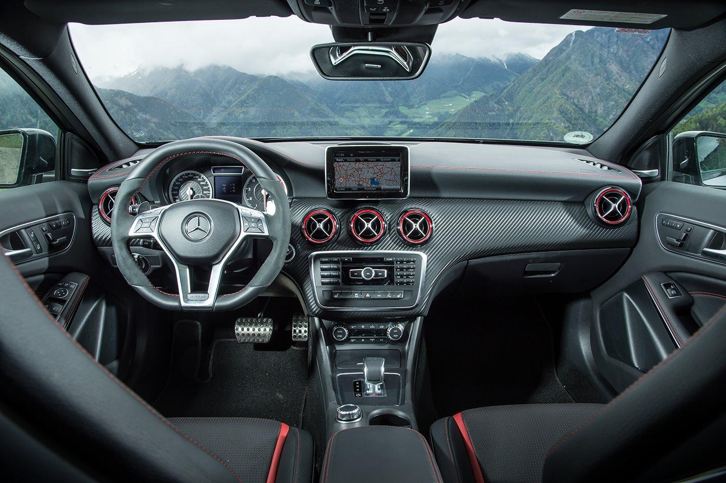 Mercedes A45 AMG interior.jpg