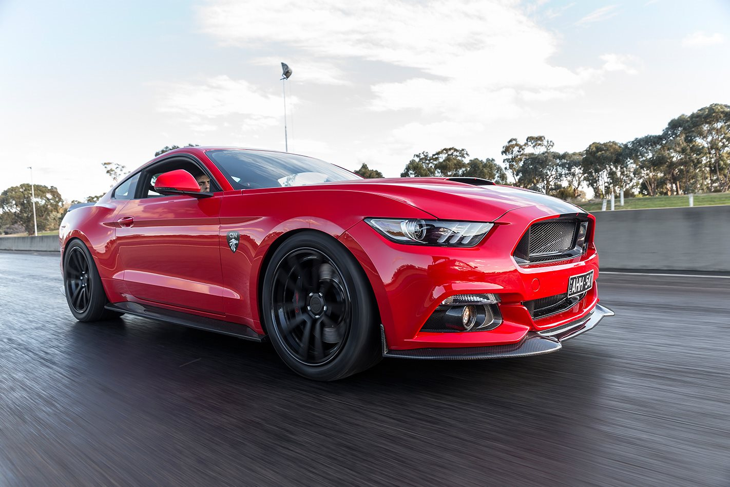 2017 Corsa Specialised Vehicles Mustang GT on racetrack.jpg