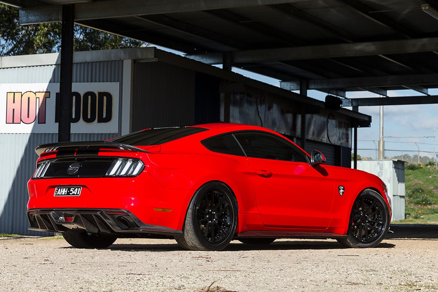 2017 Corsa Specialised Vehicles Mustang GT tyres