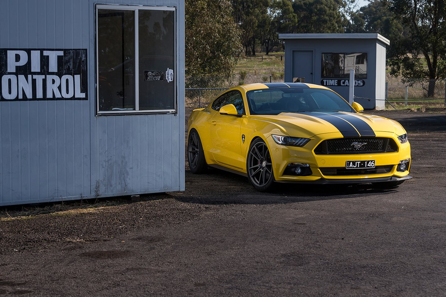 2017 Corsa Specialised Vehicles Mustang GT yellow