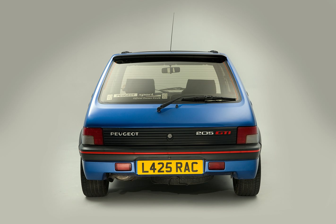 1987-Peugeot-205-GTi-rear