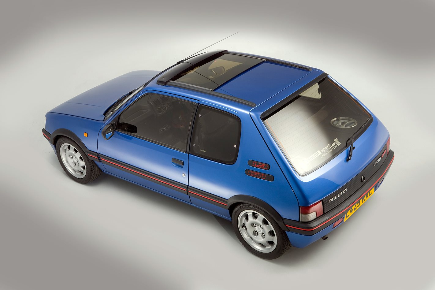 1987 Peugeot 205 GTi sunroof