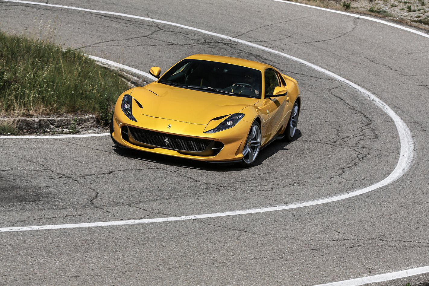 2018 Ferrari 812 Superfast on road.jpg