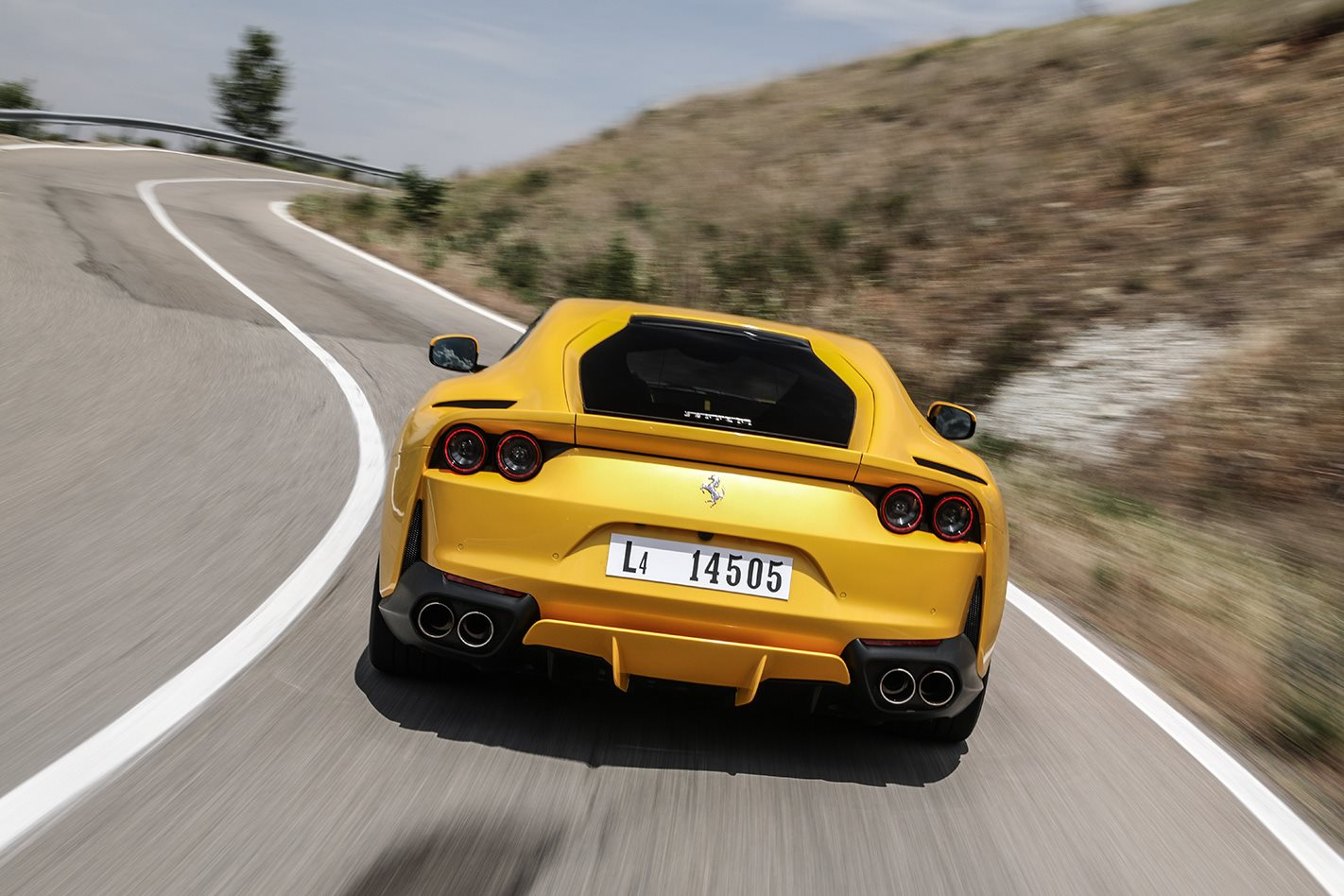2018 Ferrari 812 Superfast rear.jpg