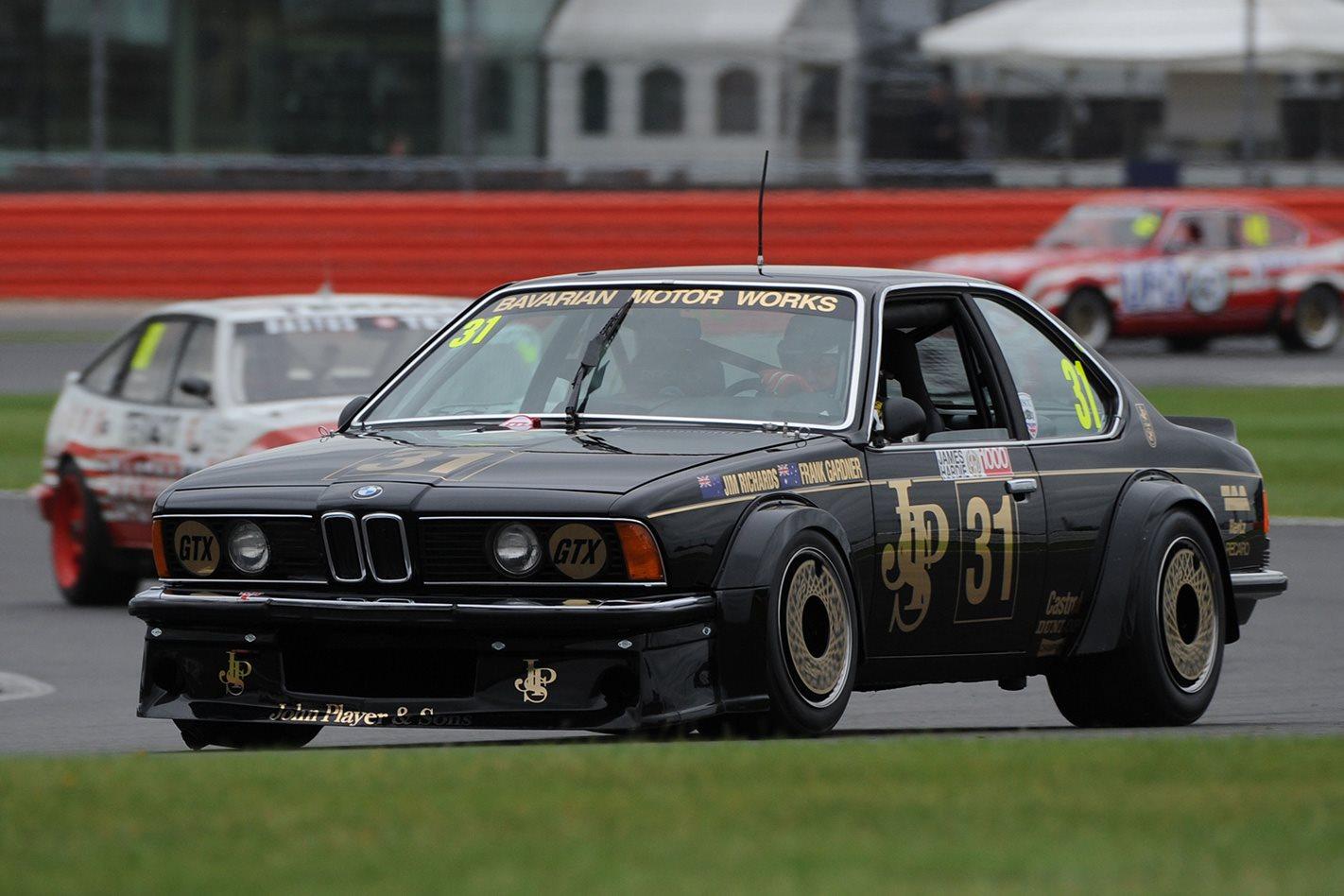 JPS BMW 635 CSi racing