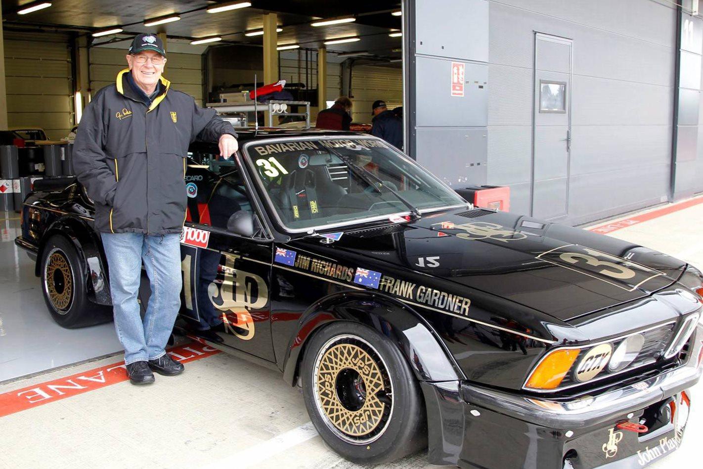 Jim Richards with JPS BMW 635 CSi