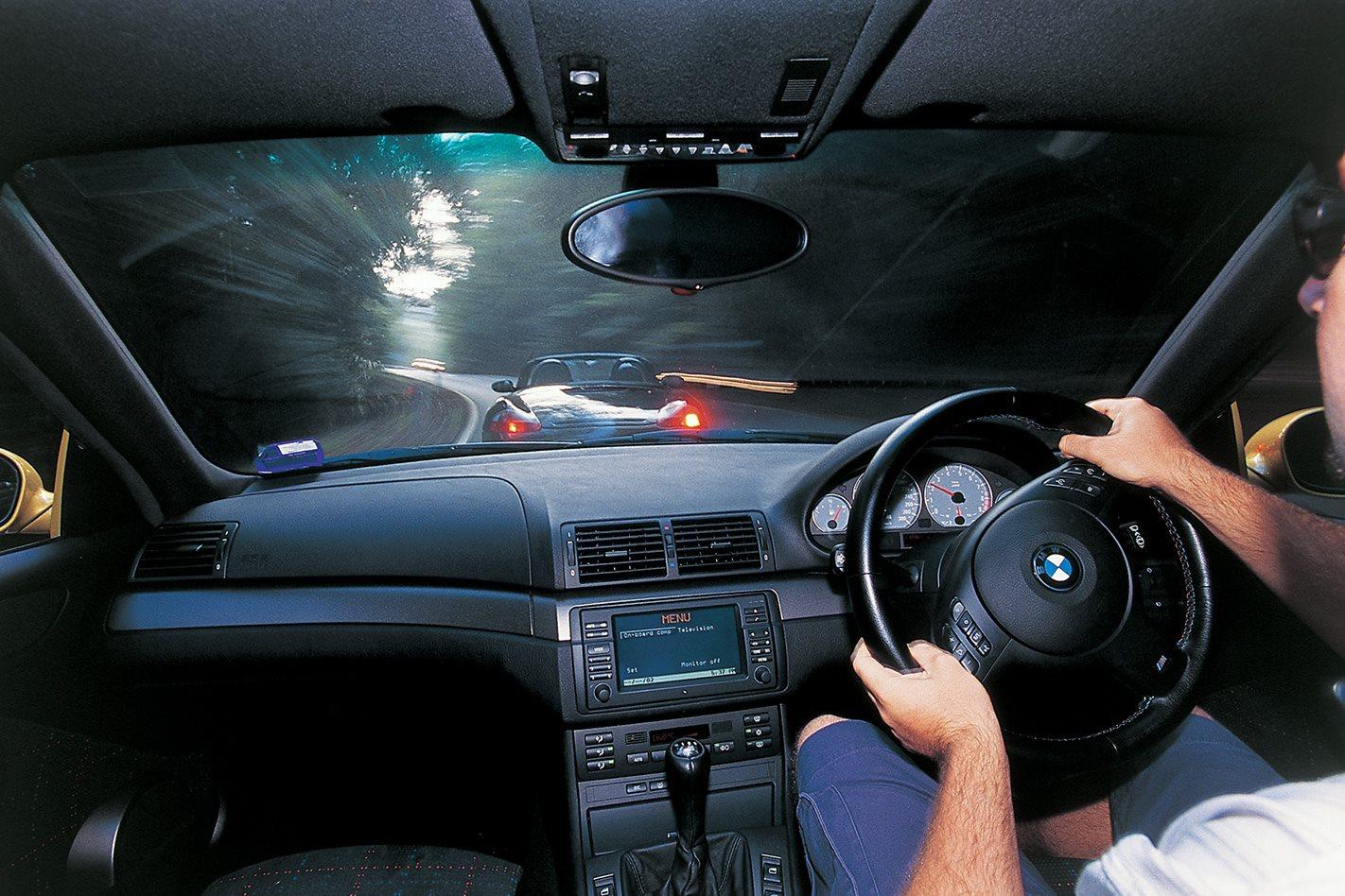 2003 BMW M3 steering