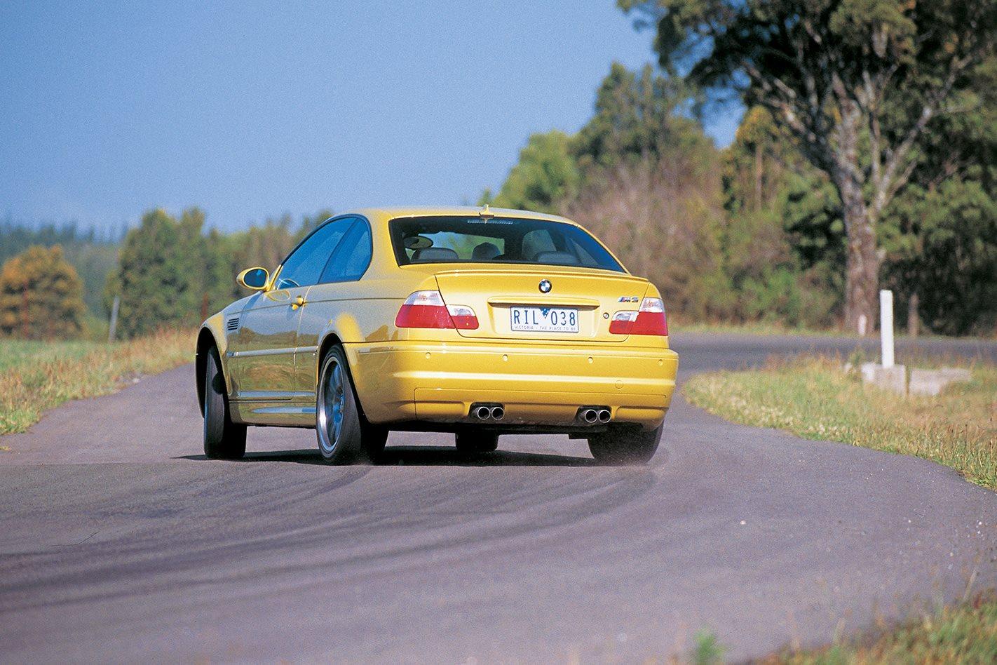 2003 BMW M3 rear