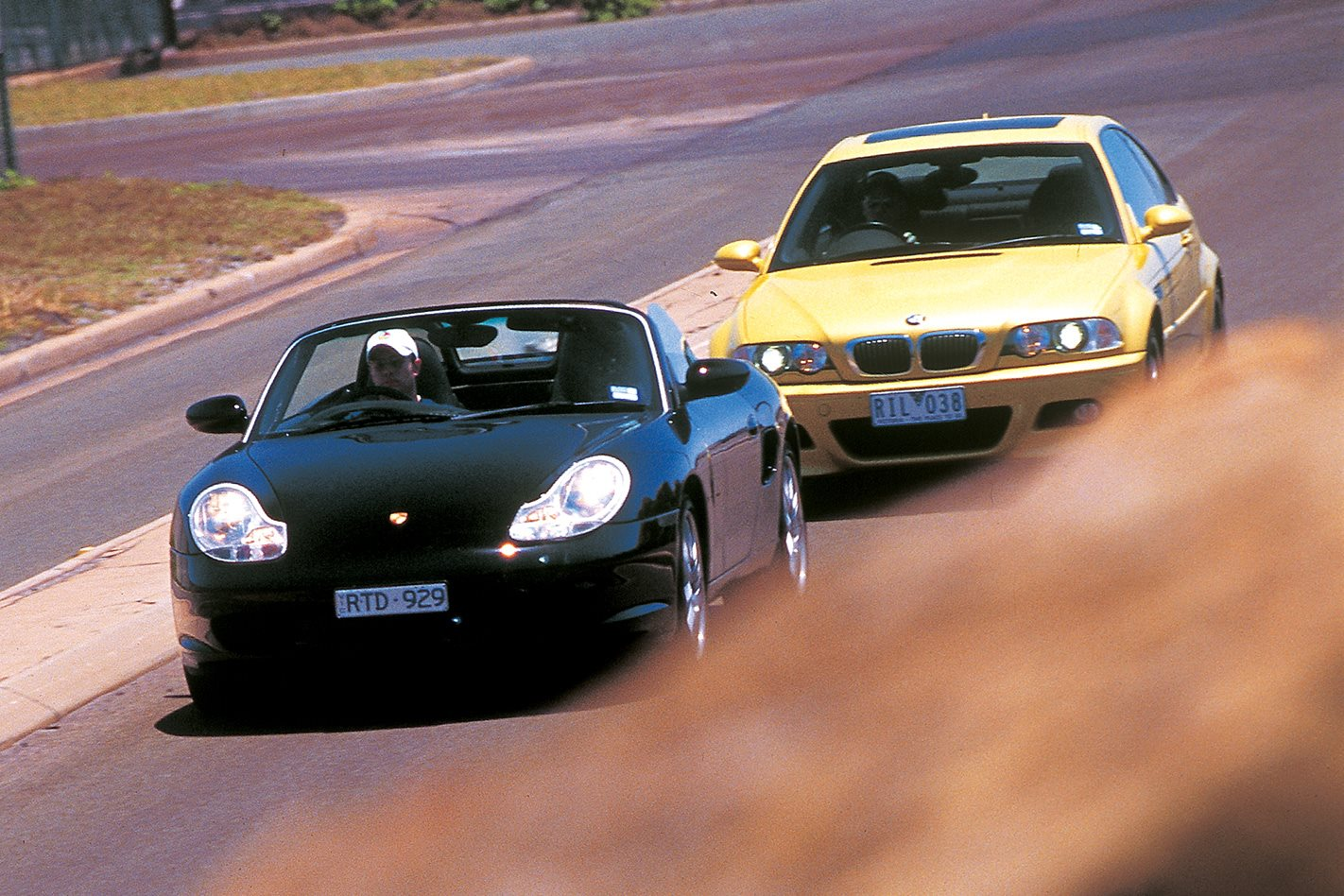 2003 BMW M3 vs 2003 Porsche Boxster S review: Clic MOTOR