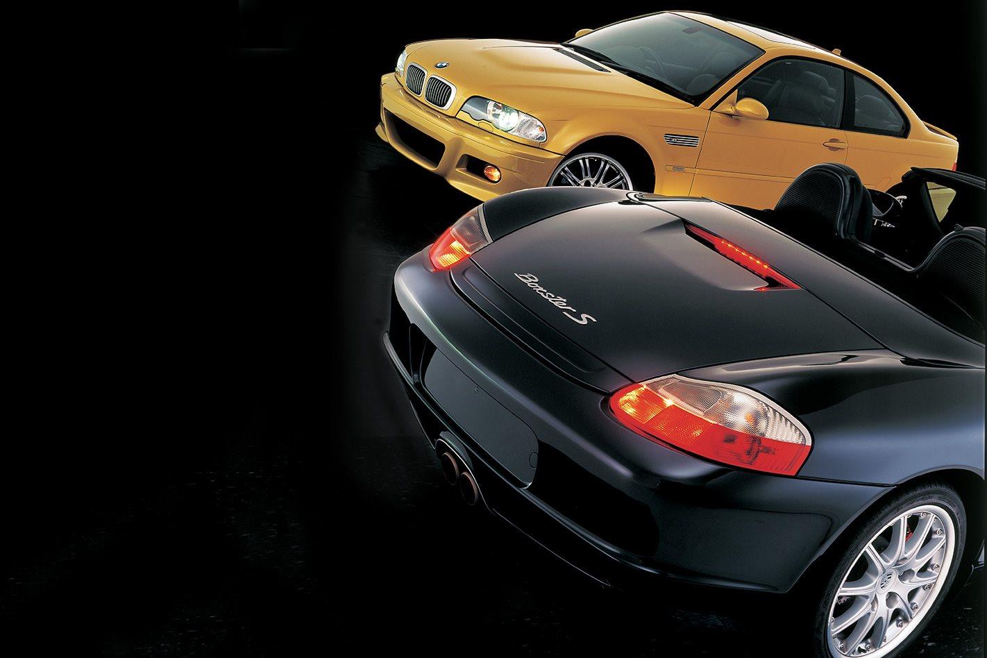2003 BMW M3 vs 2003 Porsche Boxster S