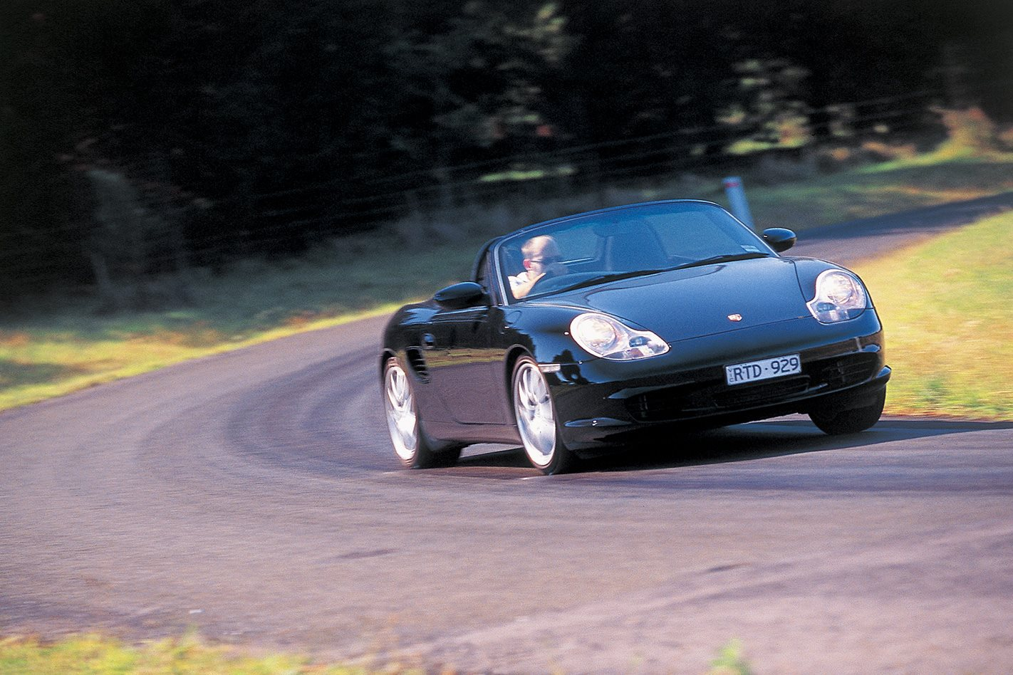 2003 Porsche Boxster S traction control
