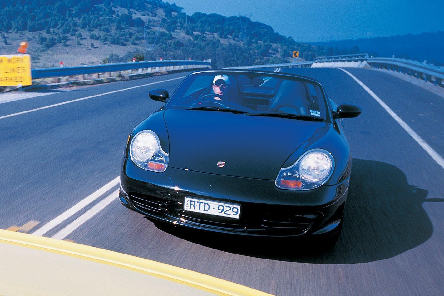 2003 Porsche Boxster S front