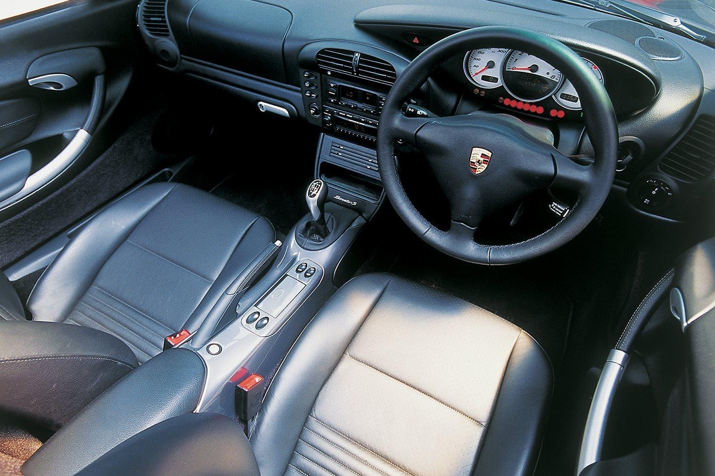 2003 Porsche Boxter S interior
