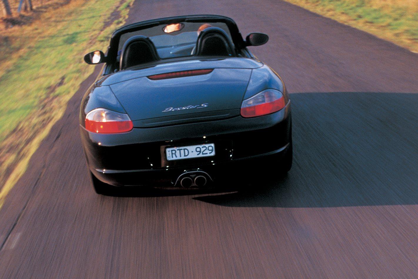 2003 Porsche Boxster S rear