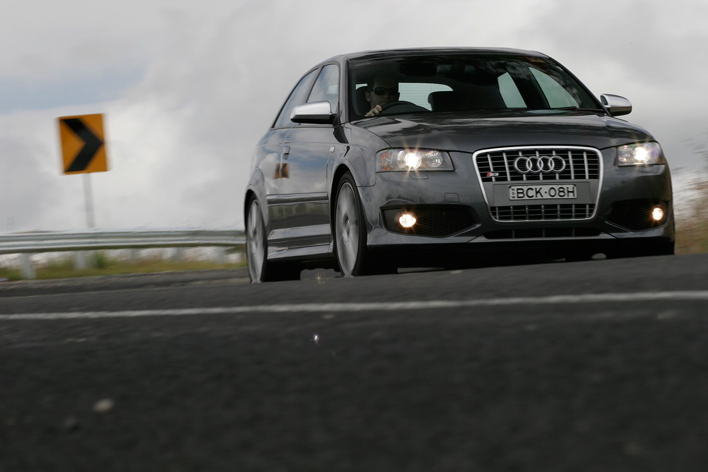 2008 Audi S3 front drive.jpg