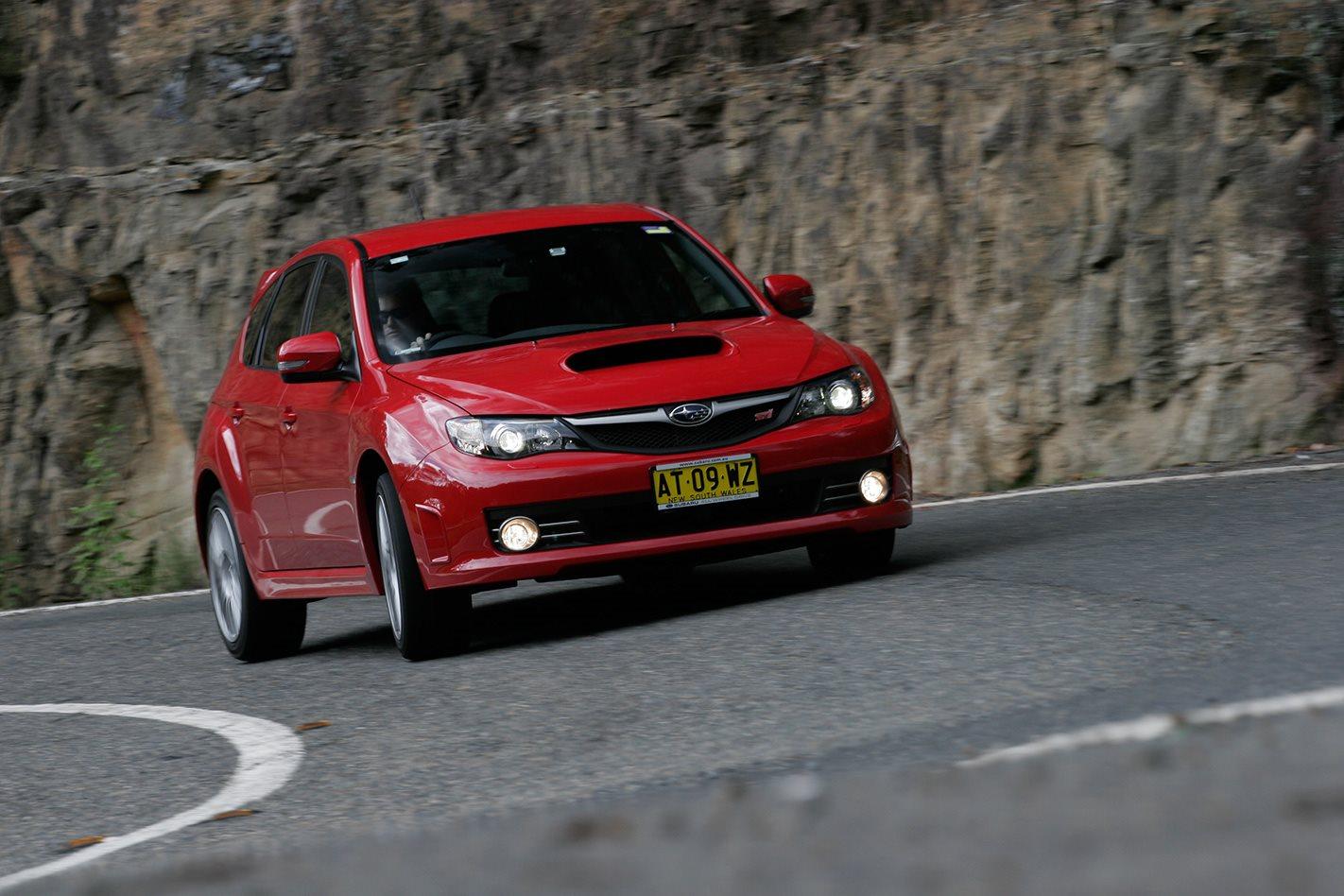 2008 Subaru Impreza WRX STI front.jpg
