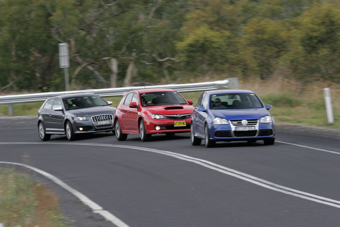 2008 Subaru Impreza WRX STI vs Audi S3 vs Golf R32 on the road.jpg