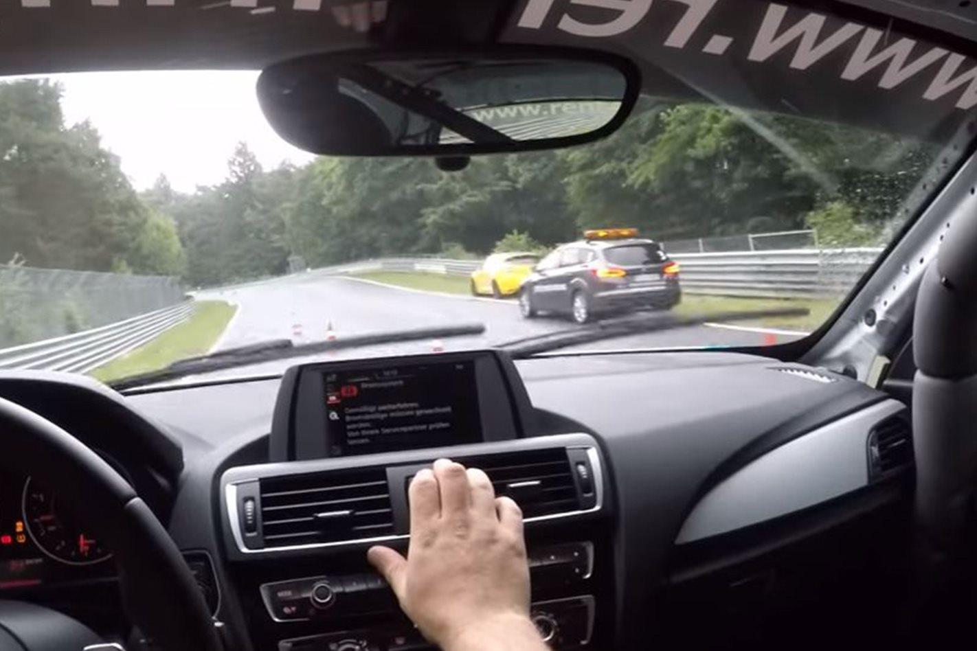 Safety car at Nürburgring