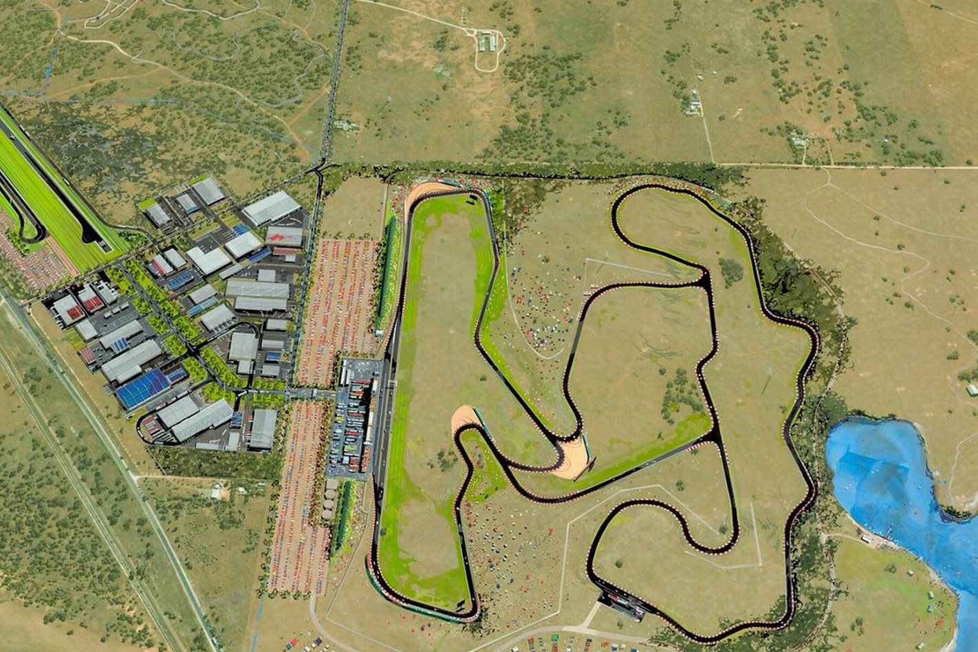 Tailem Bend Motorsport Park design