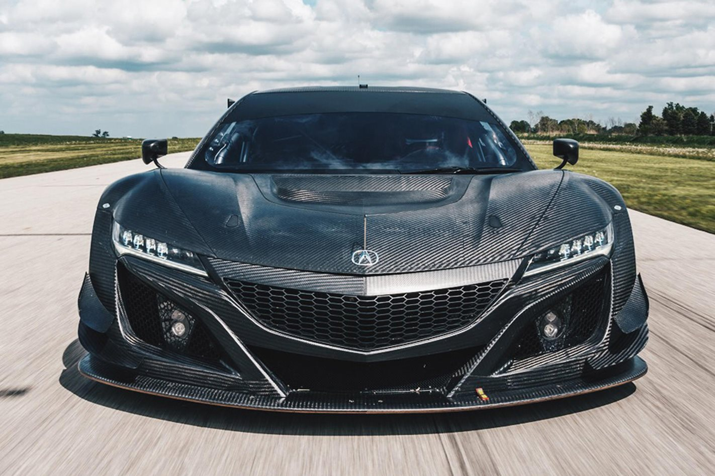Honda NSX GT3 race car front