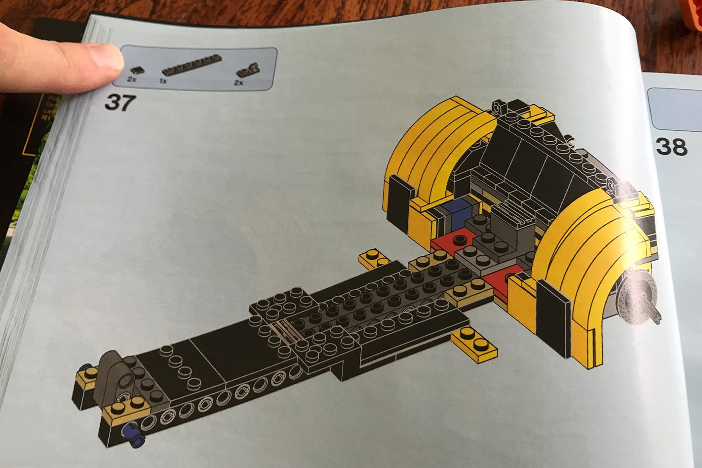 LEGO Caterham 620R instruction