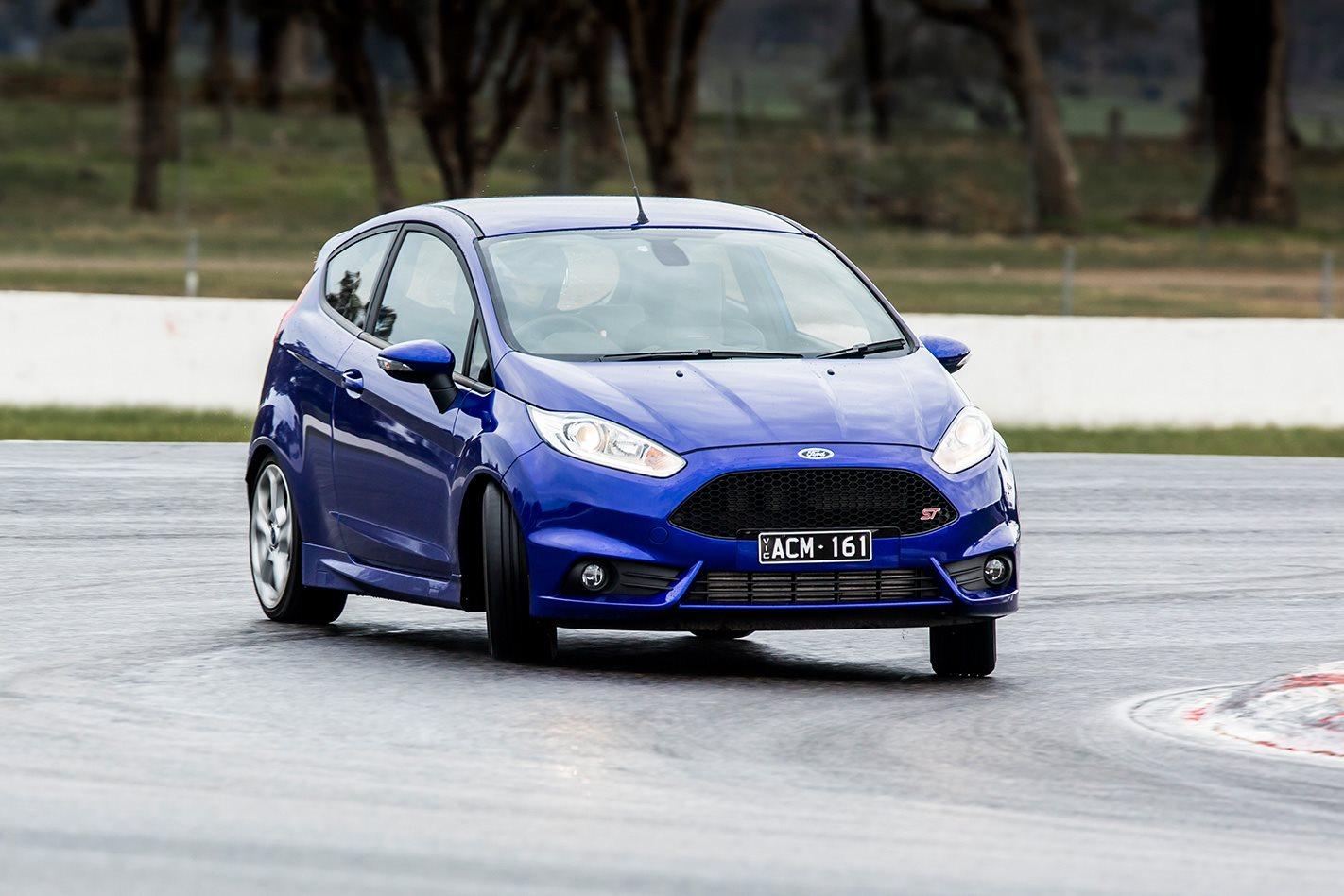 Ford Fiesta ST testing