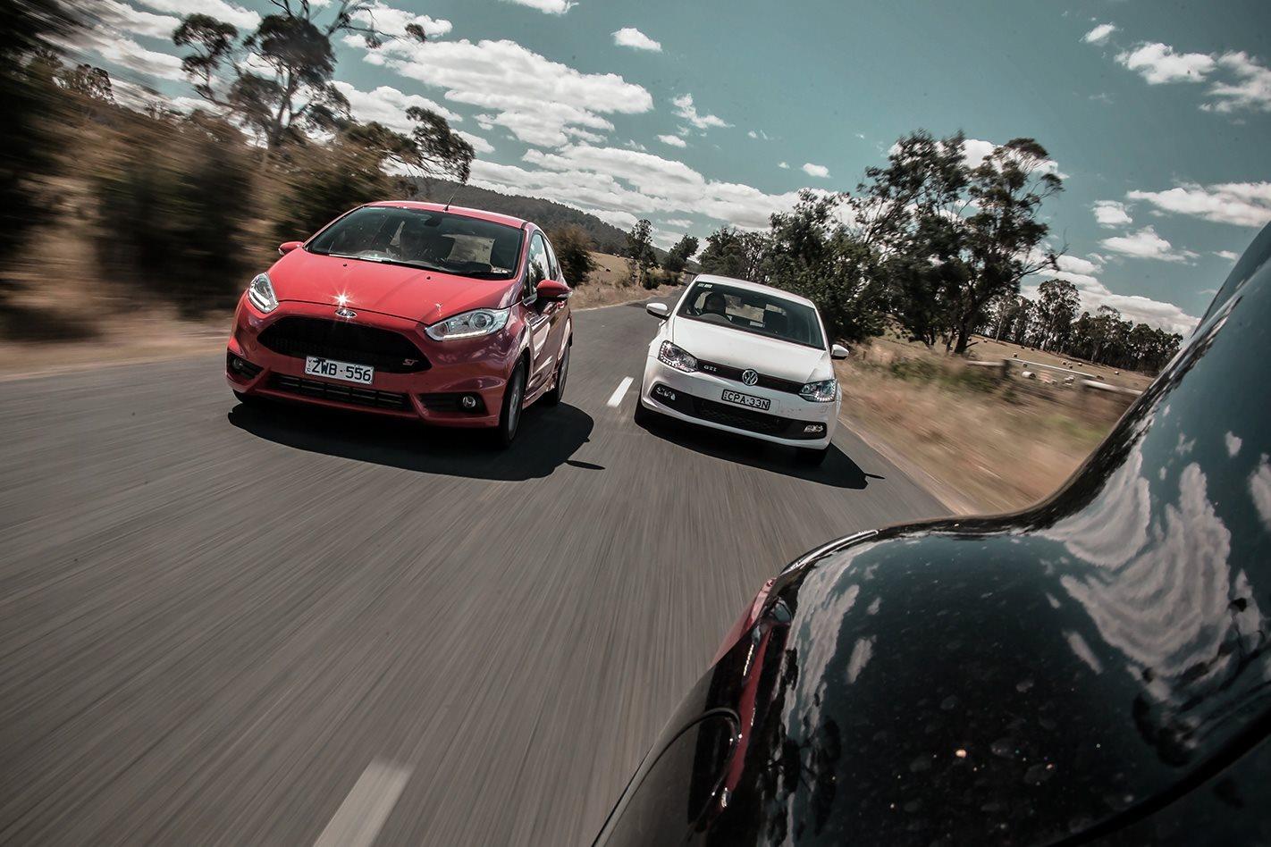 Ford Fiesta ST vs VW Polo GTI