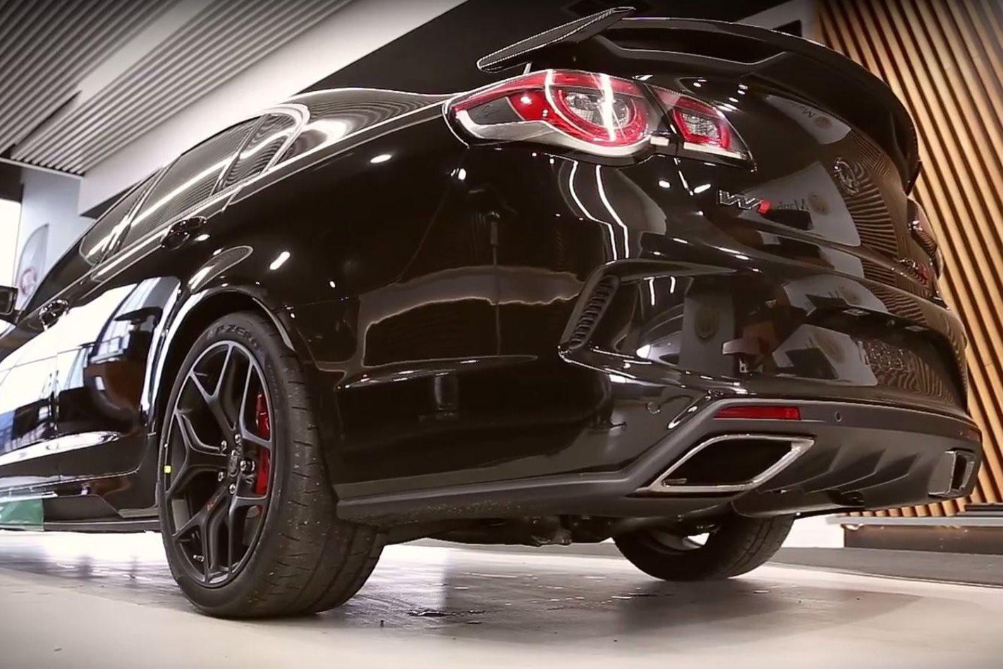 2017 HSV GTSR W1 polished