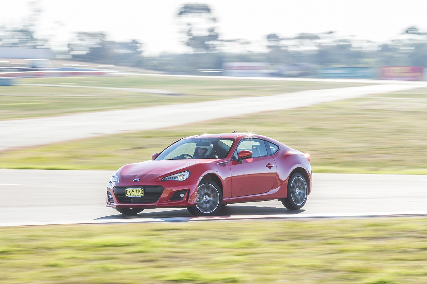 2017 Subaru BRZ BFYB test lap