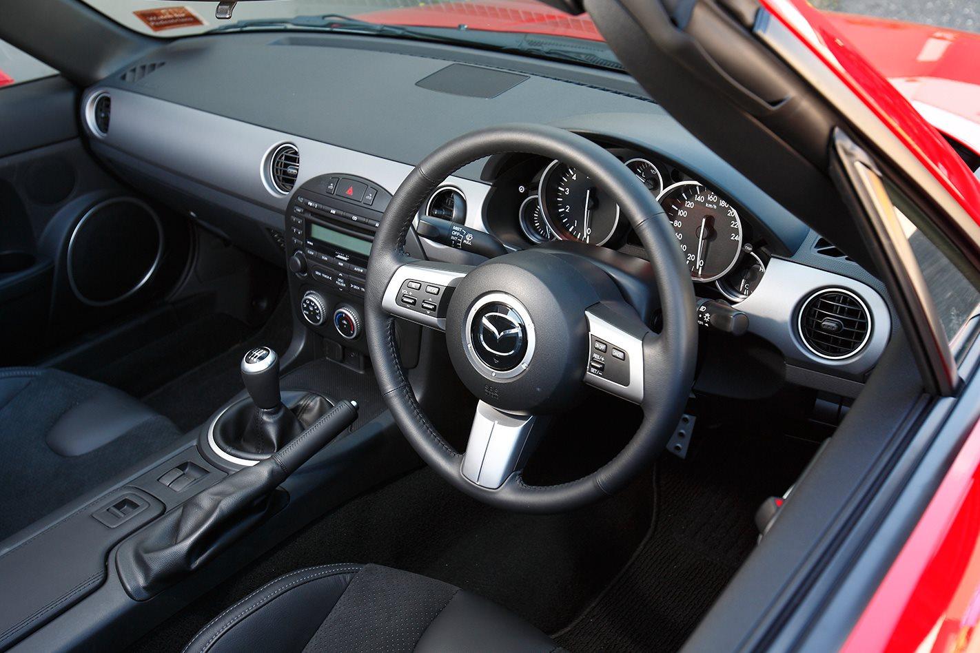 Mazda NC MX-5 interior