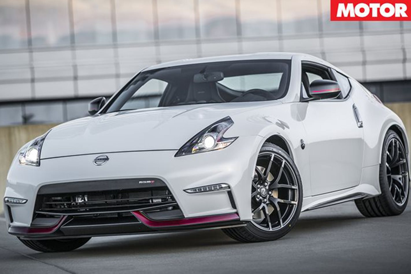 Nissan 370Z NISMO front facing
