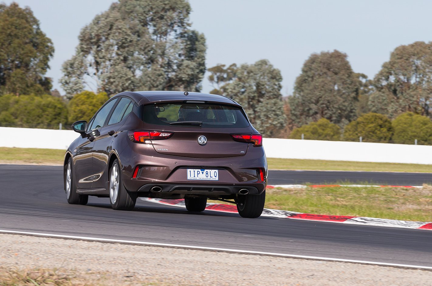 2017 Holden Astra RS rear