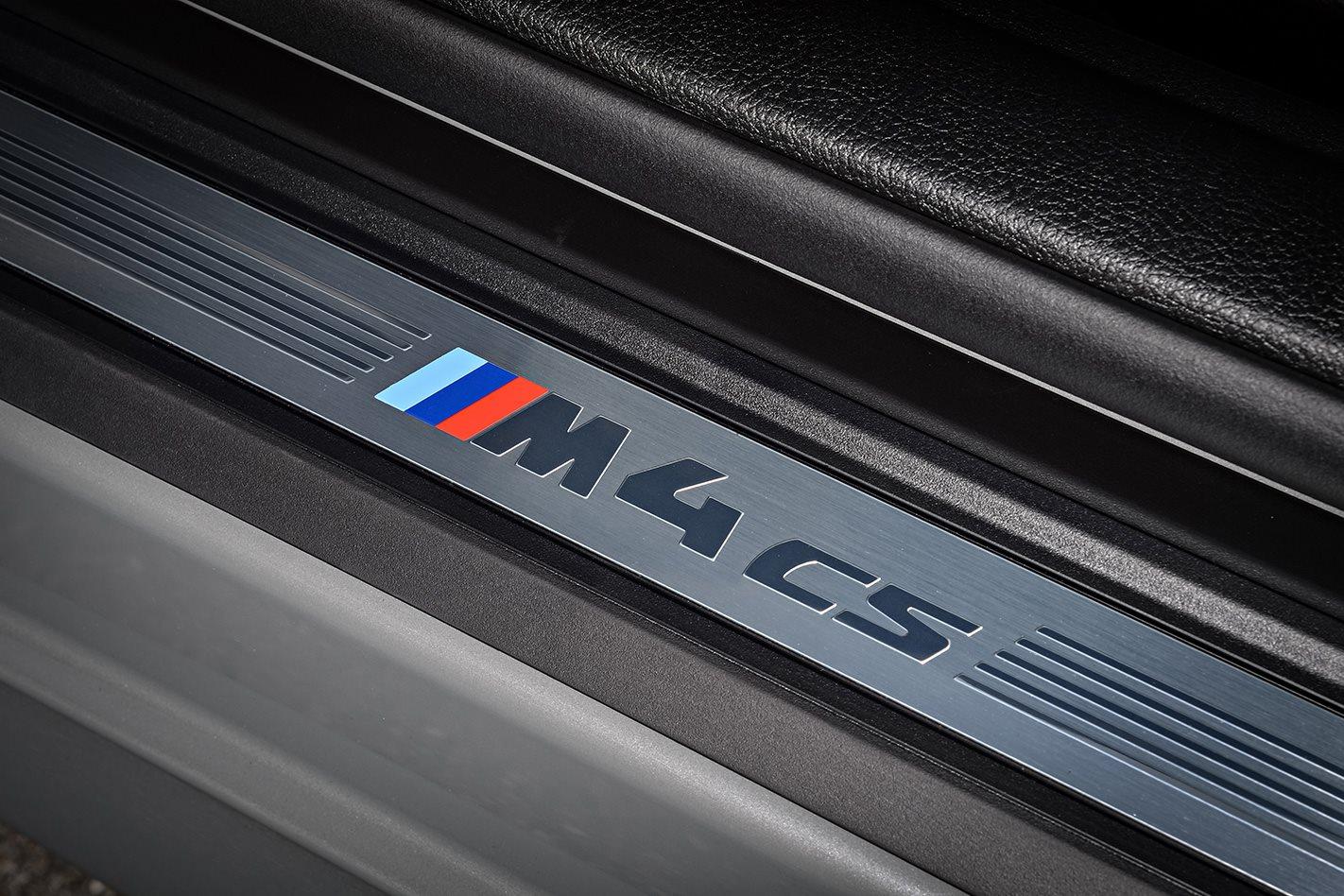 2018 BMW M4 CS doorframe