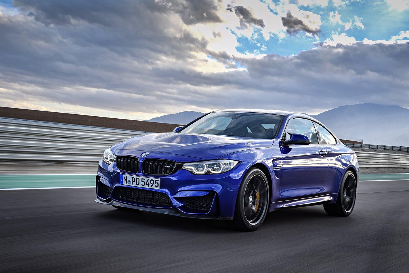 2018 BMW M4 CS drive
