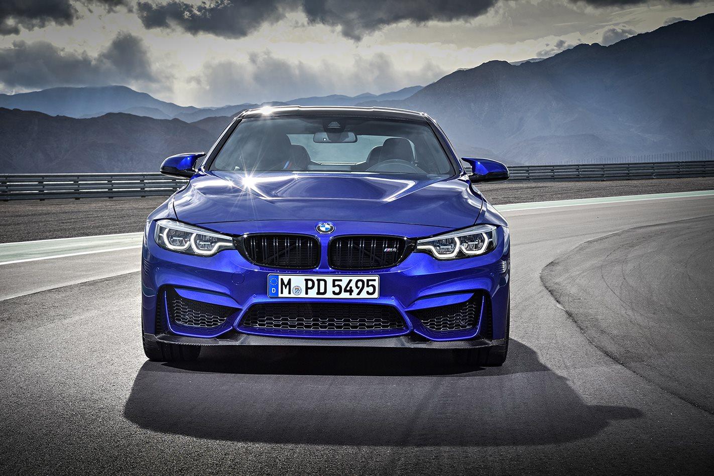 2018 BMW M4 CS front facing