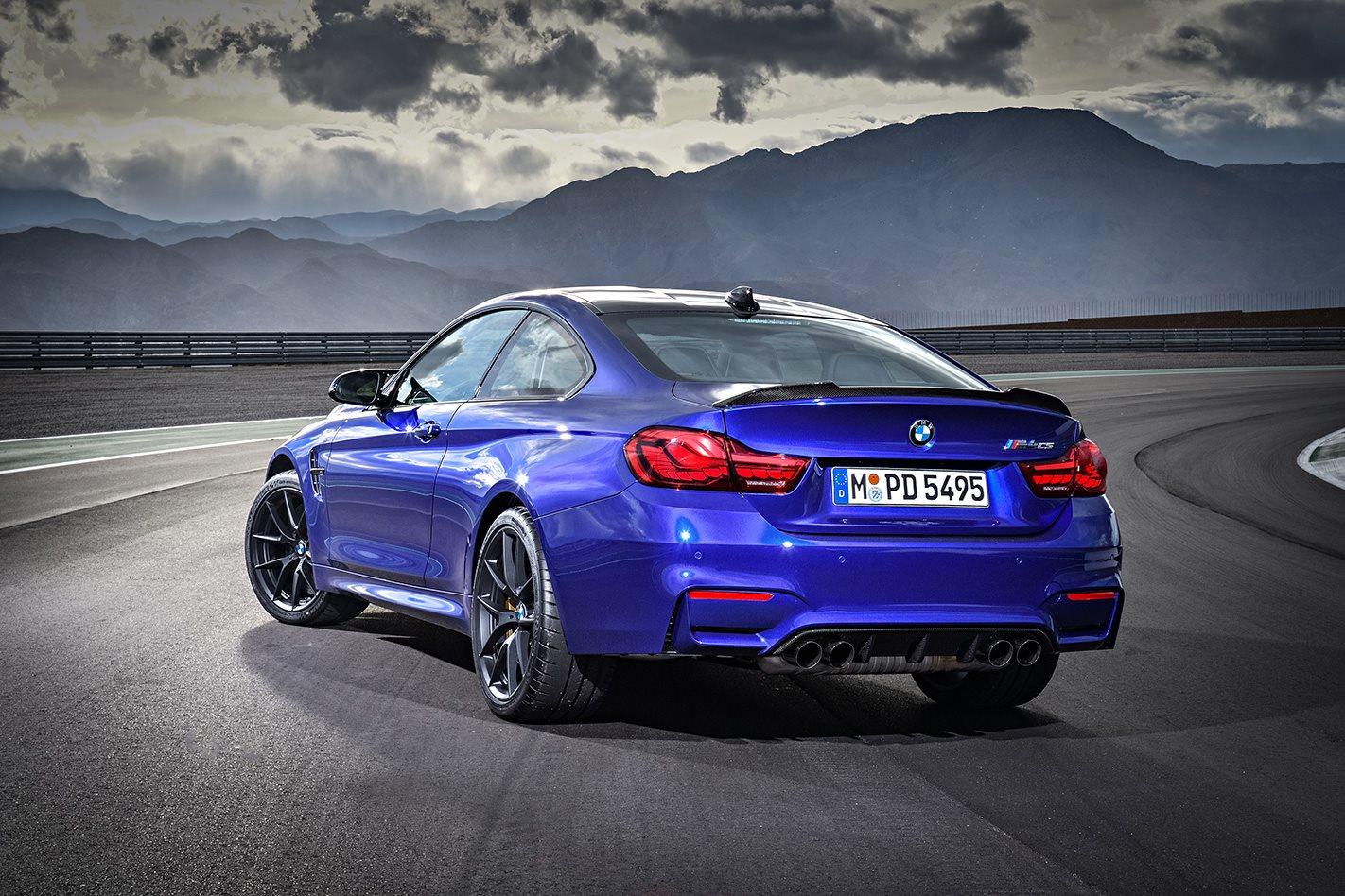 2018 BMW M4 CS rear