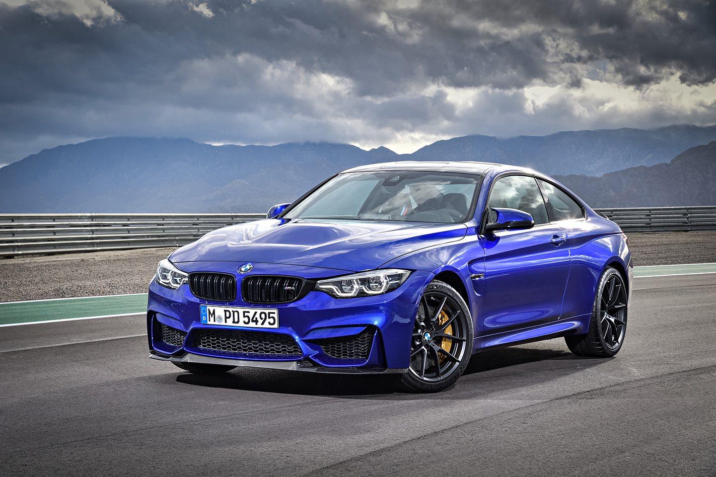 2018 BMW M4 CS front bumper