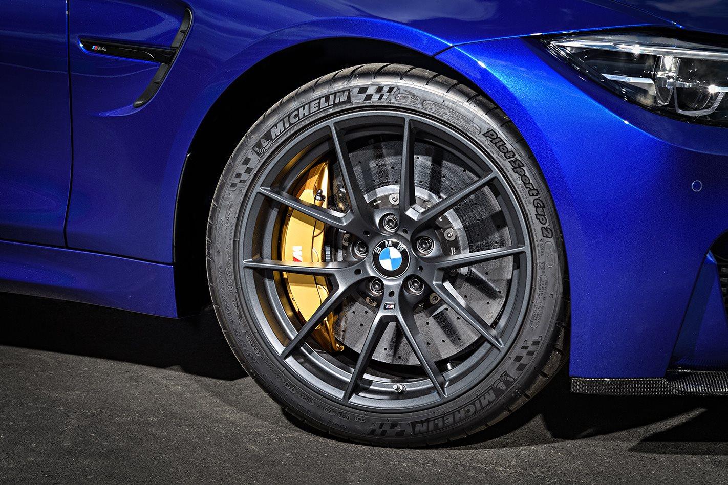 2018 BMW M4 CS wheel