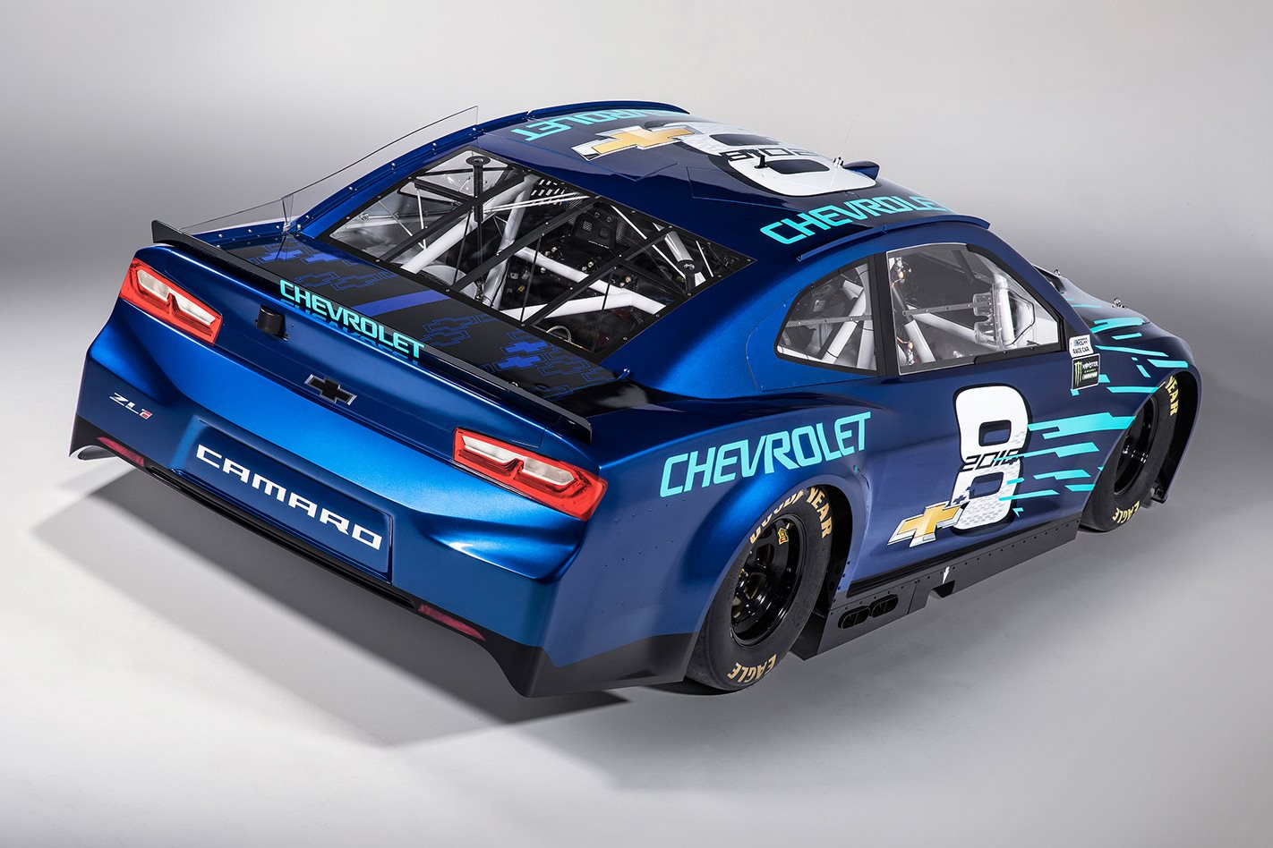 2018 Chevrolet Camaro ZL1 NASCAR cup series rear