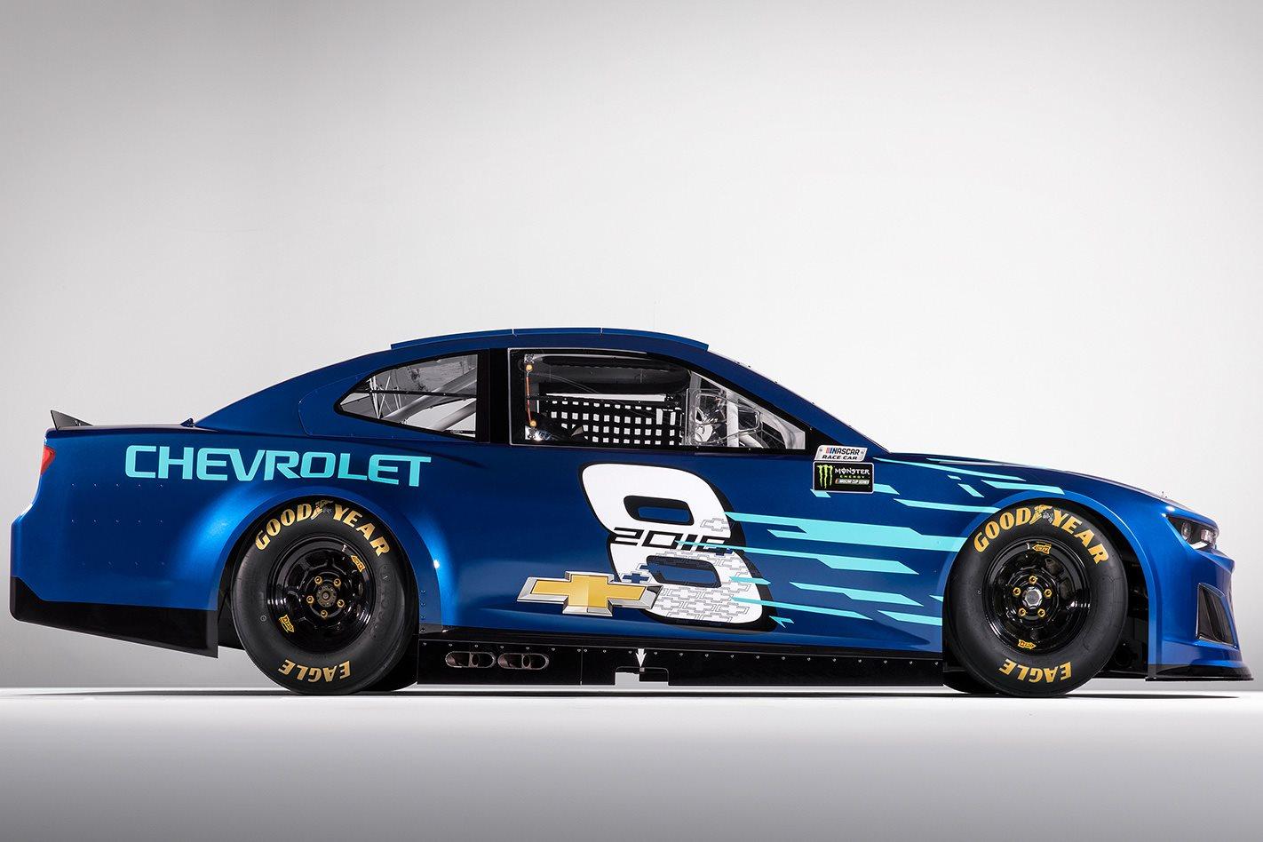 2018 Chevrolet Camaro ZL1 NASCAR side