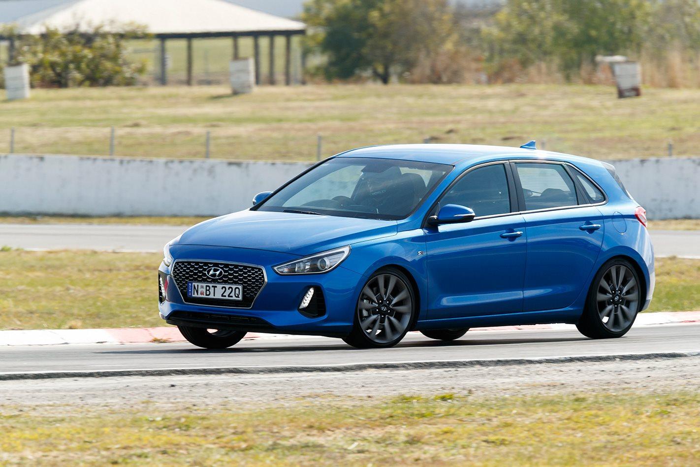 2017 Hyundai i30 SR body