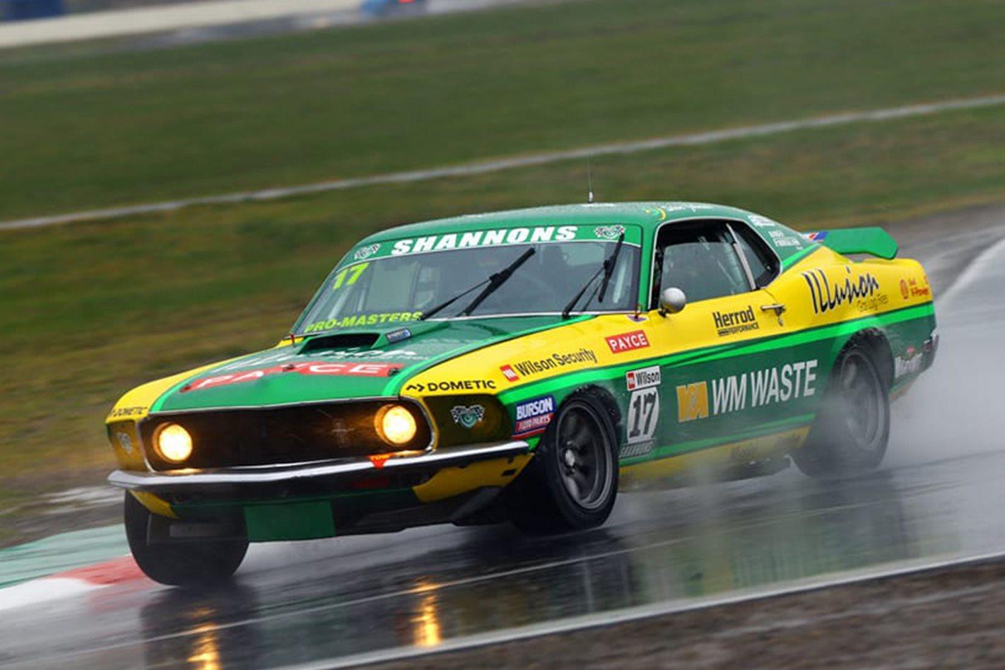Steve Johnson Team Johnson Ford Mustang